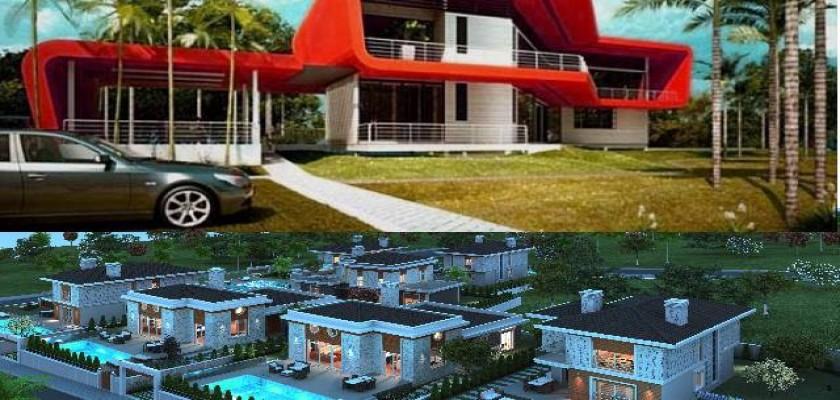 Villalar Yaz Dönemlerinde Büyük İlgi Görüyor!