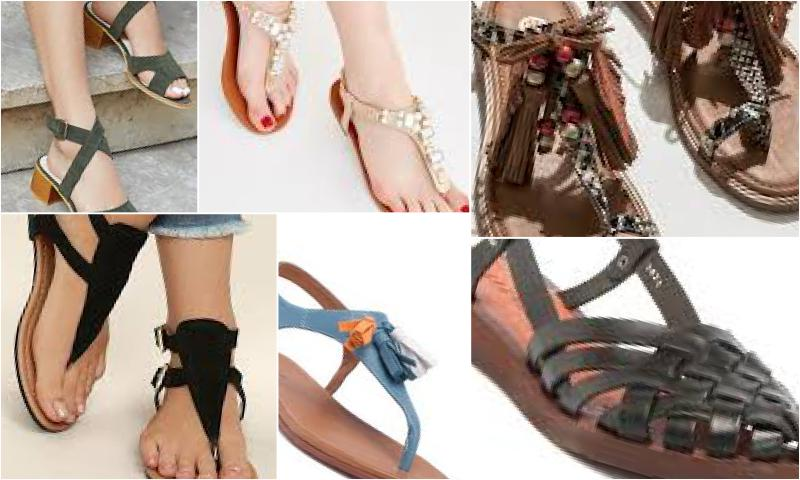 Yeni Sezon Sandalet Modelleri Ve Renkleri
