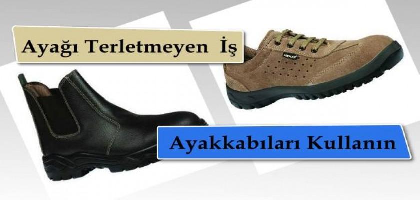 Ayağı Terletmeyen İş Ayakkabıları Kullanın