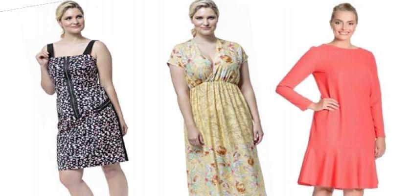 Büyük Beden Giyim Ürünleri Standart Ölçüdeki Elbiseler ile Yarışır Durumda