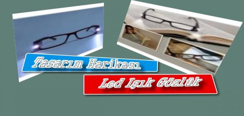 Tasarım Harikası Led Işıklı Gözlük