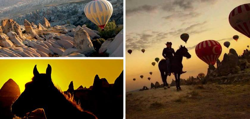 Kapadokya'da At Turuna Ne Dersiniz
