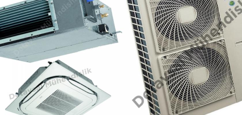 FBQ50C /C8 Tavan Tipi Klimaların Özellikleri Nelerdir