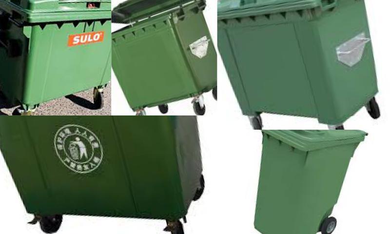 Garbage Bin Çöp Kutusu