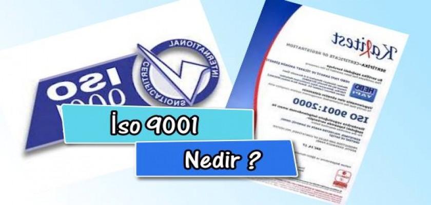 İso 9001 Nedir
