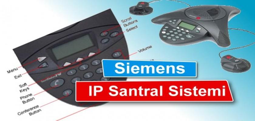 Siemens Ip Santral Sistemi