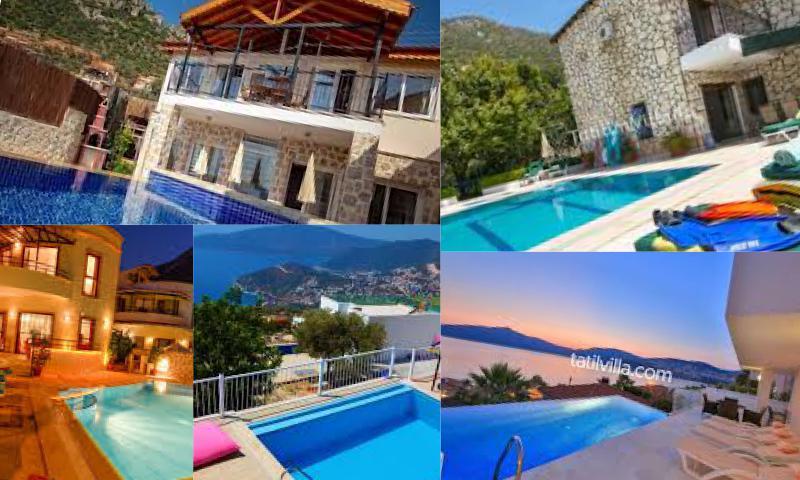 Huzurlu ve Lüks bir Tatil İçin Tatil Villaları